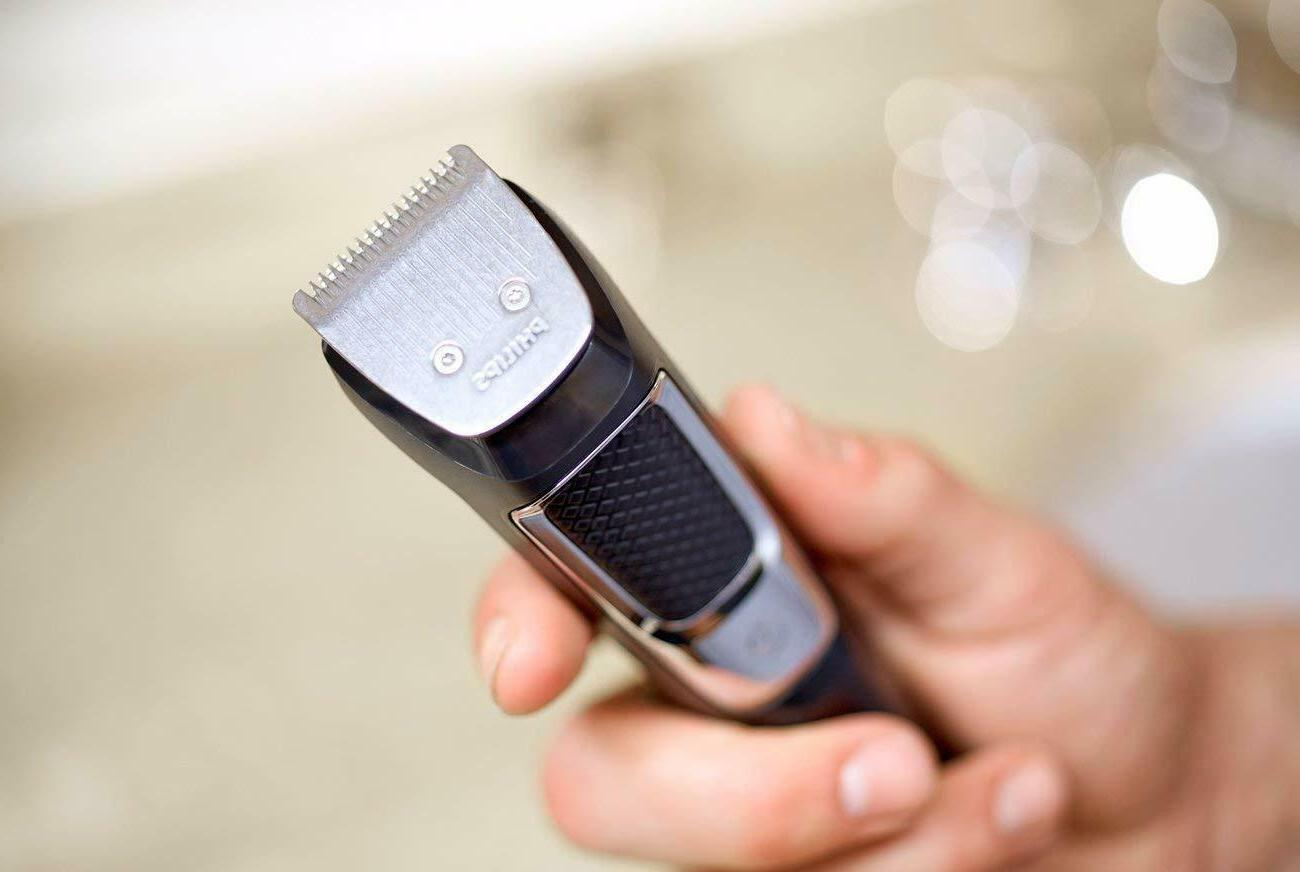 Philips Rechargeable Grooming Kit Beard Nose Ear Hair
