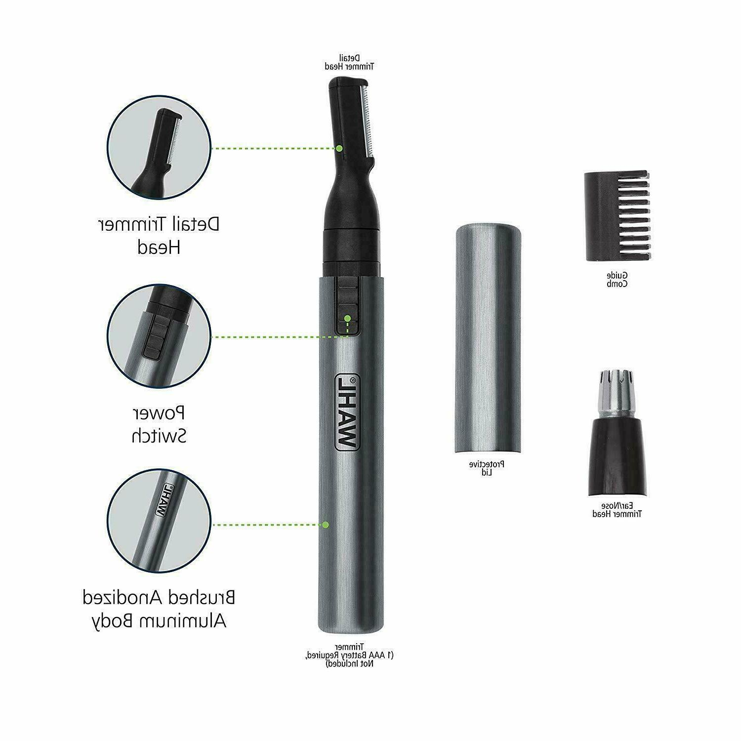 Wahl Nose Neck Hair Eyebrow Shaver Personal