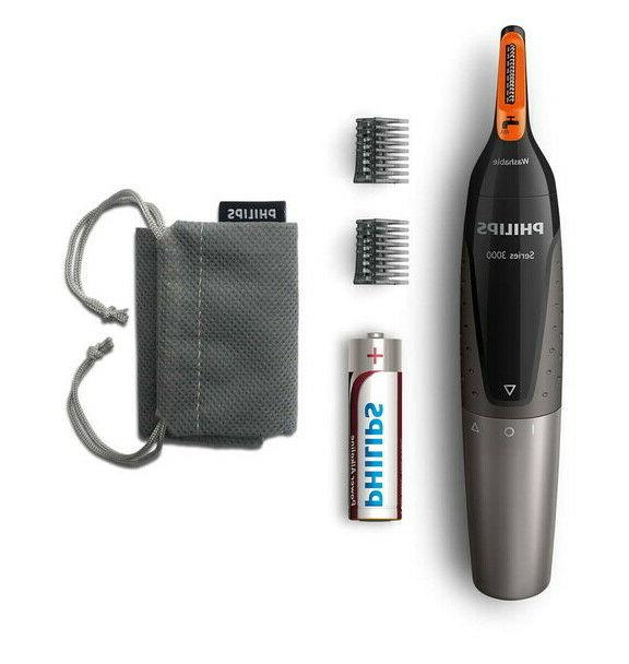 Philips NT3160/10 Nose Hair, Ear Hair and Eyebrow Trimmer Se