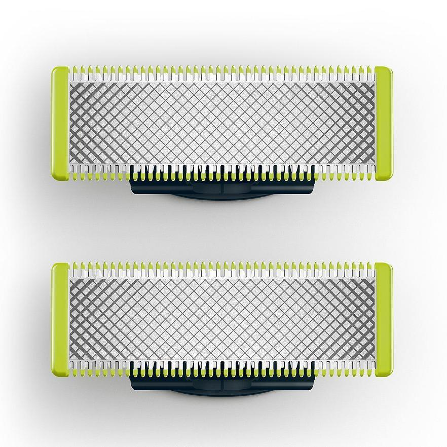 Philips Norelco Oneblade Replacement Blades Green/silver