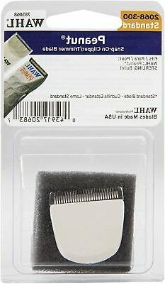 Wahl Professional Peanut Snap On Clipper/Trimmer Blade  #206