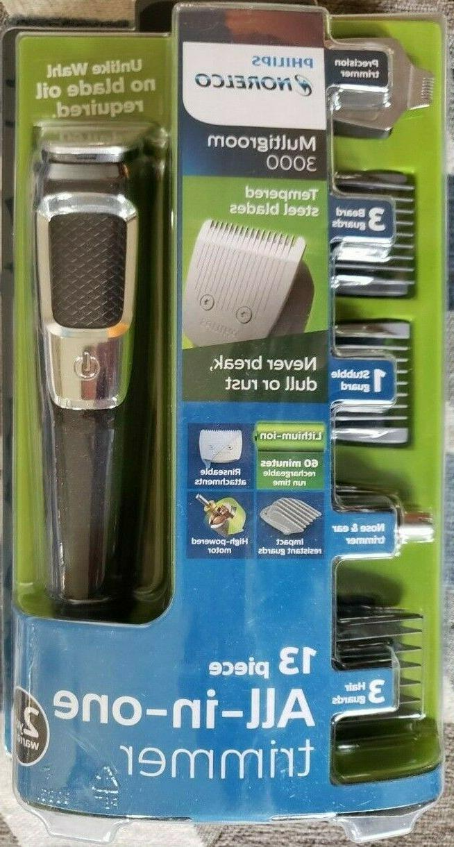 philips mg3750 norelco multigroom trimmer 3000 series