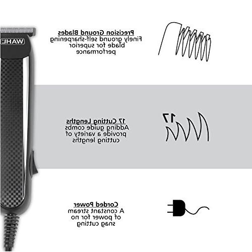 Wahl PowerPro Corded Beard and Haircut men's grooming kits Mustache, Stubble, Body Grooming, by Brand by # 9686