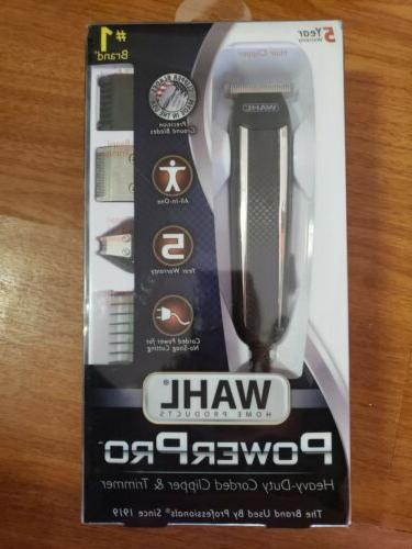 power corded grooming kit