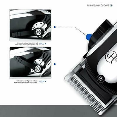 HATTEKER Hair Clipper Cordless Hair Trimmer Beard Complete