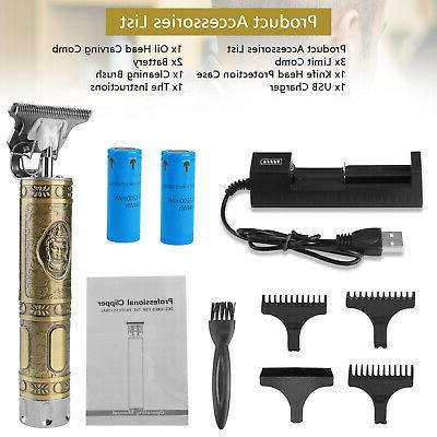 Professional Clippers Trimmer Shaving Cutting Beard Barber