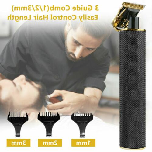 Professional Clippers Electric Cordless Trimmer Cutting Machine Set Barber