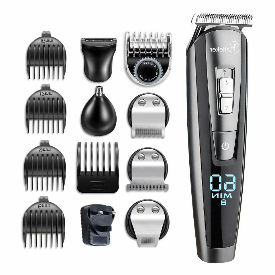 Professional Hair Clipper Beard Body For Men USB Charging