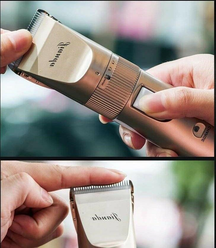 Professional Rechargeable Clipper trimmer Grooming