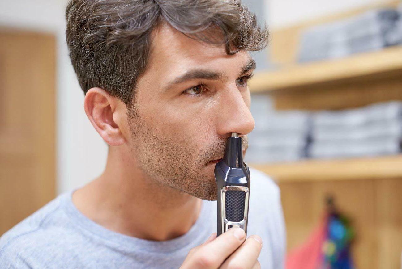 Philips Kit Beard Nose Hair Trimmer Clipper