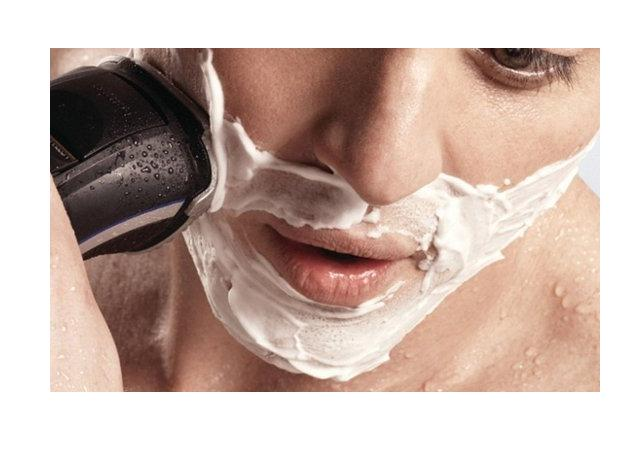 WET/DRY ELECTRIC SHAVER, TRIMMER-