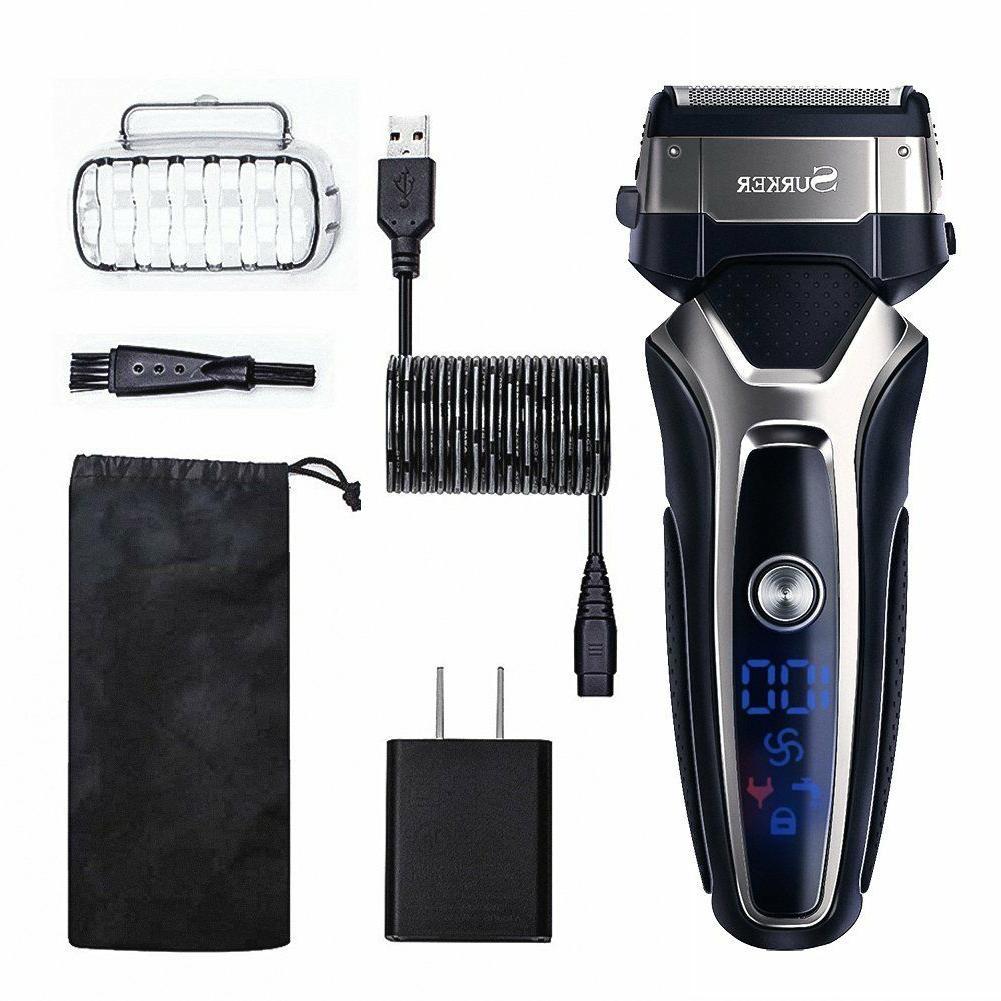 shaver electric trimmer razor professional foil cordless