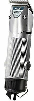 New Silver Oster Turbo A5 2-Speed Professional Animal Dog Tr