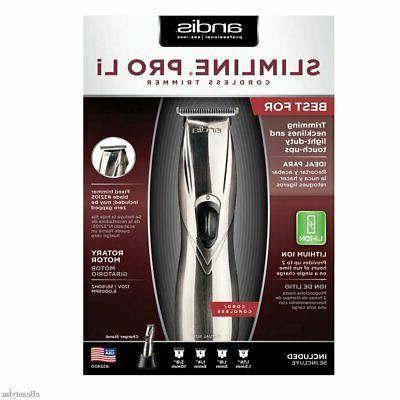 slimline li cordless clipper trimmer