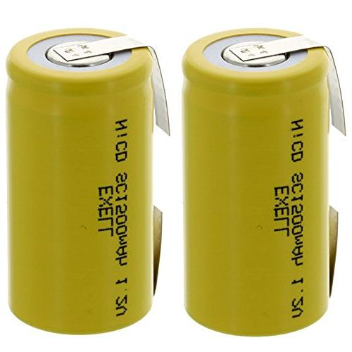 subc nicd rechargeable batteries