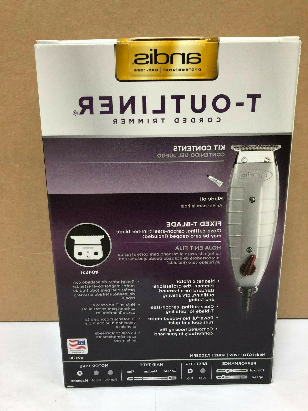 Andis Clipper With T-Blade # Free 2 Day Shipping