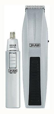 Wahl Trimmer Clipper Battery Beard Nose 11-Piece Kit