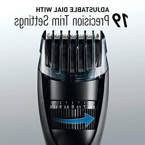 Panasonic Cordless Electric Beard & Hair Trimmer for Men,
