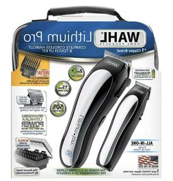 WAHL LITHIUM PRO CORDLESS CLIPPERS BARBER TRIMMER HAIRCUTTIN