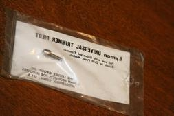 Lyman 17 17mm HMR Trim Rotary Case Trimmer Pilot Reloading T
