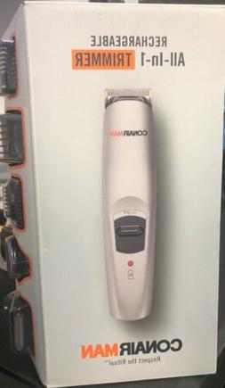 Conair Man Rechargeable All-In-1 Trimmer Beard/Mustache GMT1