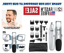 Men Hair Clipper Electric Shaver Trimmer Haircut Grooming Ki