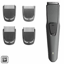Philips Men's Beard & Stubble Trimmer Series 1000 with USB C
