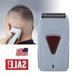 Men's Electric Shaver Trimmer Bald Razor Rechargeable Hair B