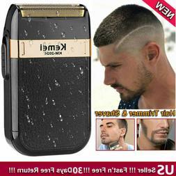 Men's Electric Shaver Trimmer Razor Reciprocating Double-hea