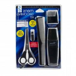 Men's Grooming Trimming Kit Haircut Clippers Trimmers Scisso