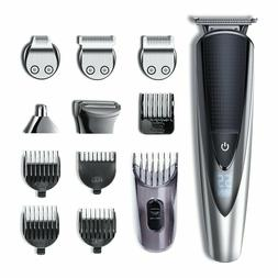 Hatteker Men's Hair Clipper Beard Body Mustache Trimmer Nose