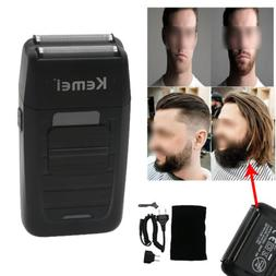 Men's Male's Electric Dual Foil Shaver Beard Trimmer Razor R