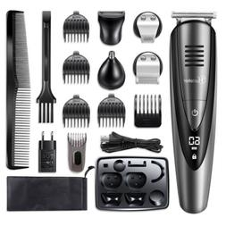 Hatteker Mens Beard Trimmer Body Mustache Hair Trimmer for N