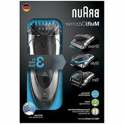Braun MG5090 Mens Multi Groomer Wet&Dry Shaver Rechargeable