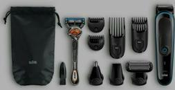 Braun Mgk3080 Men's Beard Trimmer/hair Clipper, 9-in-1 Preci