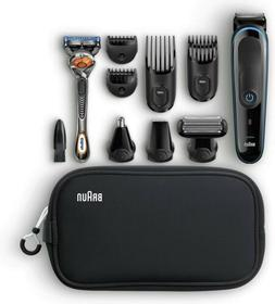 Braun MGK3980 9 in 1 Lithium cordless hair cut nose body Tri