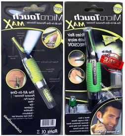 Micro Touch Max All In One Personal Nose Ear Eyebrow Necklin