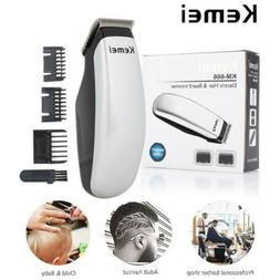 KeMei Pro Electric Hair Trimmer Clipper Men's Shaver Barber