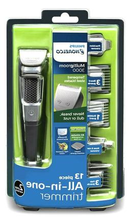 Philips Norelco Multigroom 3000 Multipurpose Rechargeable Co