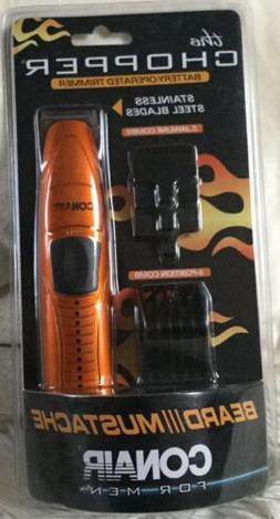 6pc MultiUse Conair Compact Mustache Beard Trimmer Cordedles