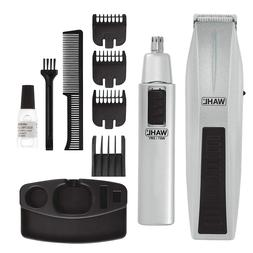 Mustache Beard Trimmer Kit Mens Compact Shaver Wahl Nose Ear