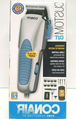 NEW Conair Custom Cut 18 piece Home Haircutting Kit Hair Cli