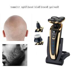 Gold 5 Head Rotary razor Electric Shaver Beard Hair Trimmer
