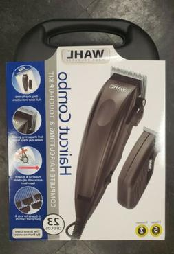 New WAHL Haircut Combo Touch-Up Kit Hair Trimmer Clipper Set