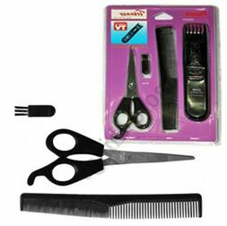 new Journey's Edge Hairv & Beard Trimmer Accessory Set- Pers