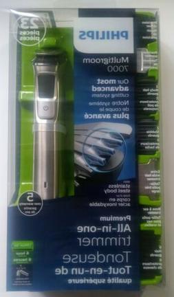 New Philips Norelco Multigroom 7000 Men's Grooming Kit Trimm