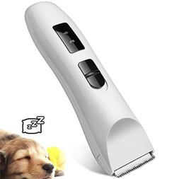 Low Noise Electric Pet Grooming and Trimming Clippers Kit, C