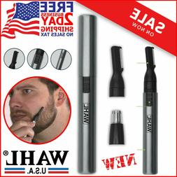 Wahl Nose Ear Trimmer Neck Hair Eyebrow Shaver Personal Groo