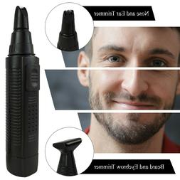 Nose Hair Trimmer Battery Operated, Changeable 2 Head 2 by R