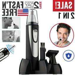 Nose Hair Trimmer Nose and Ear Eyebrow Clippers Facial Nasal